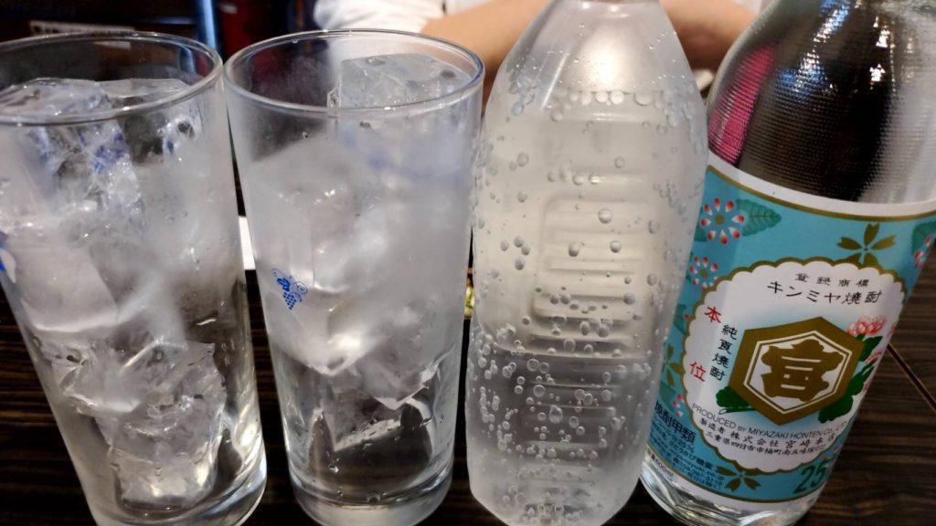 ろばた焼やきとり 亜檀 金宮ボトル1300円